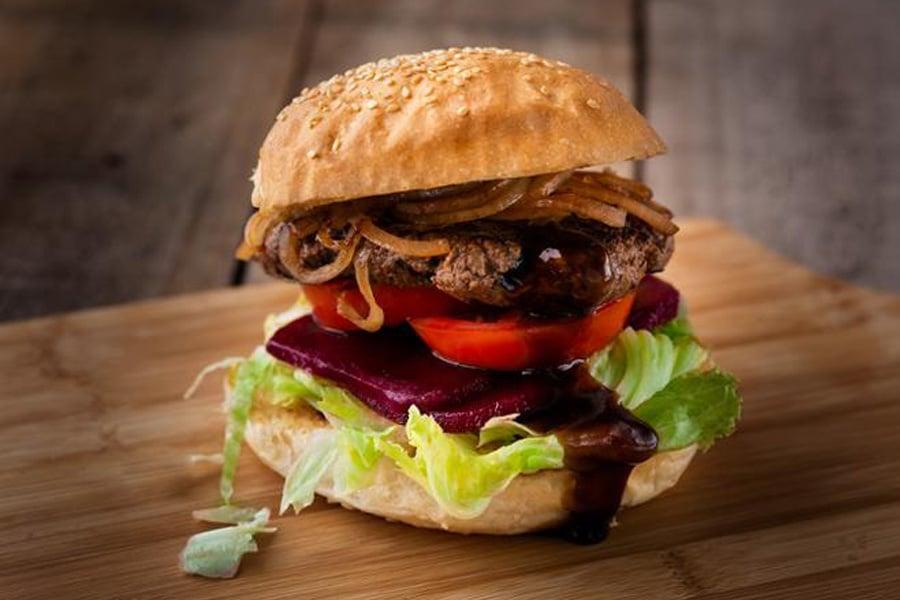 burger menu beef burger