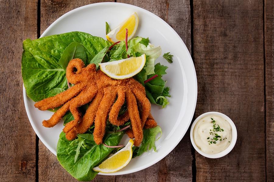 calamari curls - fish and chips gold coast