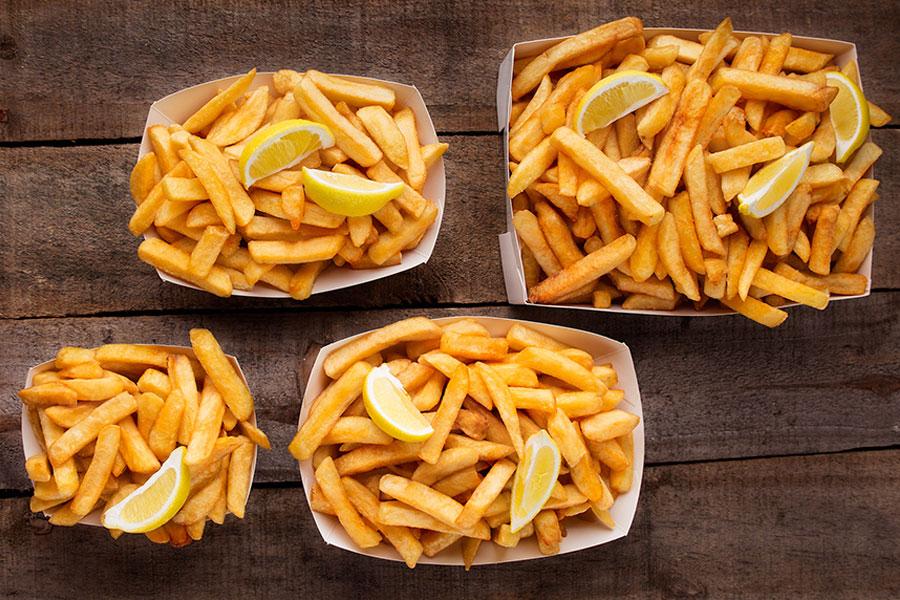 takeaway chips menu