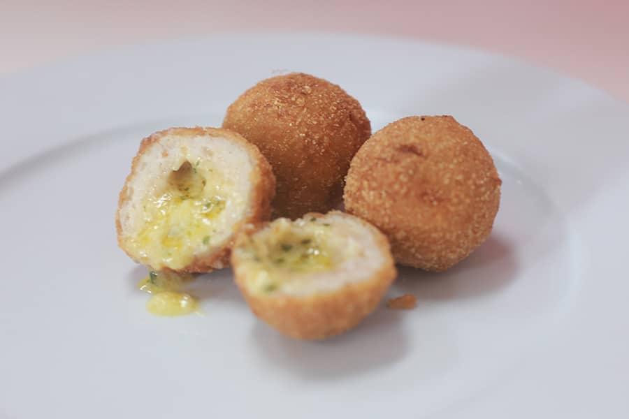 snacks menu chicken and garlic balls - takeaway gold coast