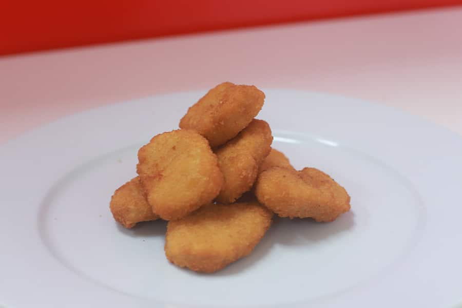 snack menu chicken nuggets