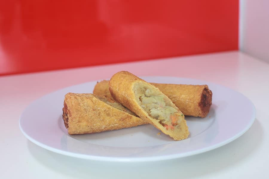 snacks menu chiko roll