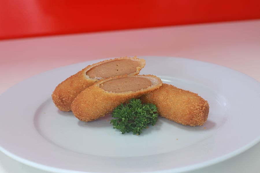 snacks menu crumbed snag