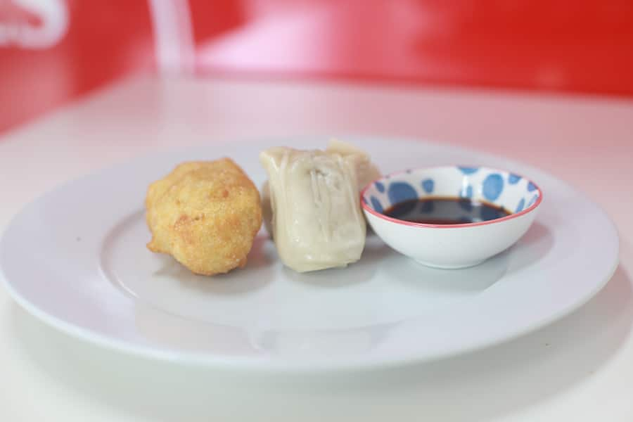 snacks menu dim sim