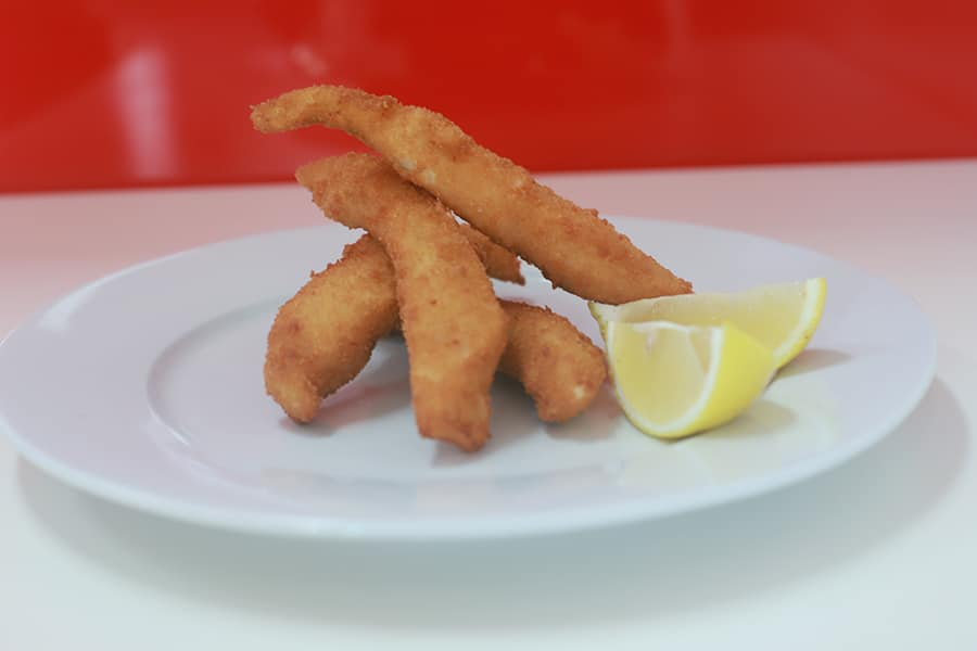 snacks menu fish bites