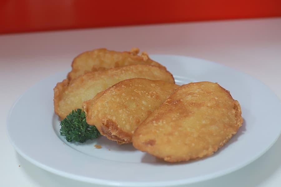 snacks menu potato scallop