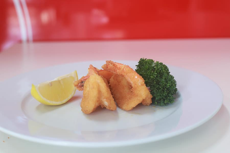 snacks menu prawn cutlets