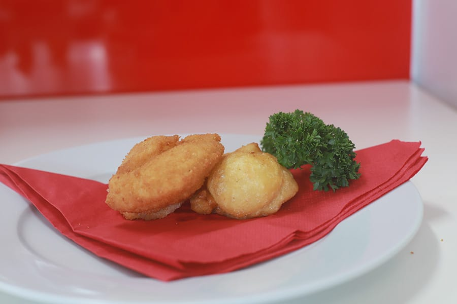 snacks menu sea scallops