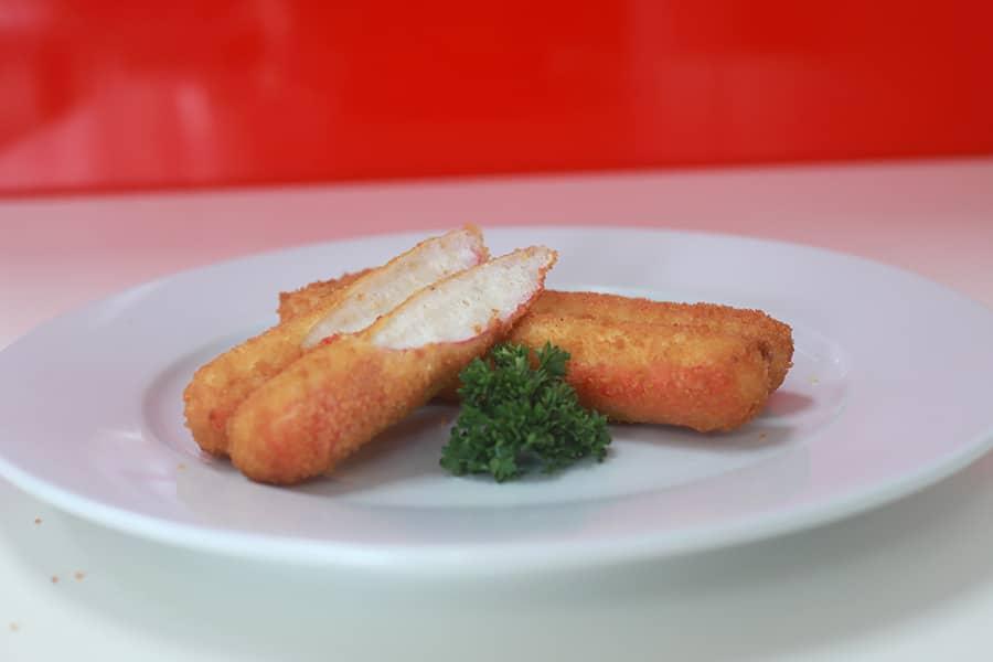 snacks menu seafood stick