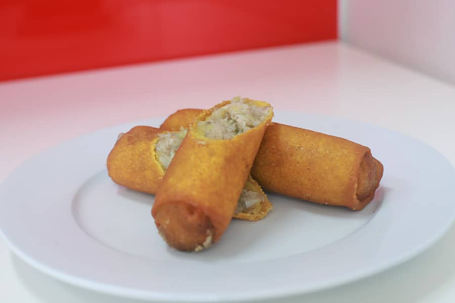 snacks menu spring roll