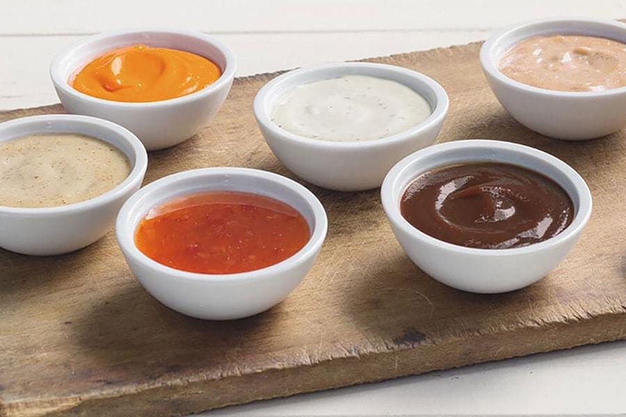 menu - sauces