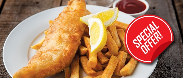 fish and chip special offer